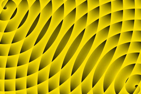 two: two yellow spirals