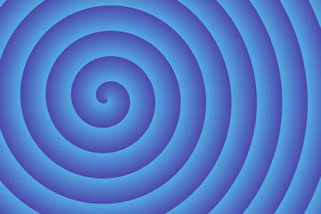 blue spiral: blue spiral in the center