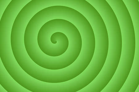 energy center: green spiral in the middle