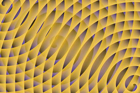 buzzer: three yellow spirals
