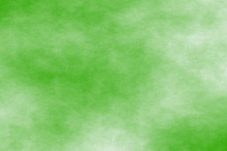 green background with white fog