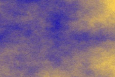 fumes: blue background with orange fog