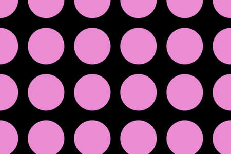 pink and black: black background with pink dots