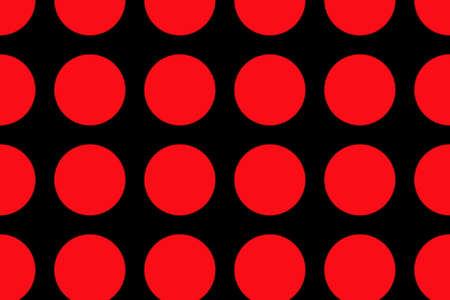 black background with large red dots Zdjęcie Seryjne