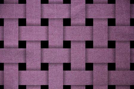 magenta woven pattern