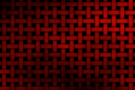 woven: red woven pattern Stock Photo