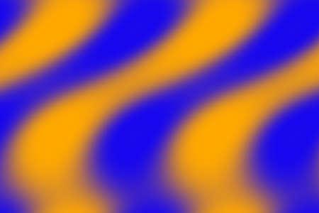 dark blue: Illustration of orange and dark blue waves Stock Photo