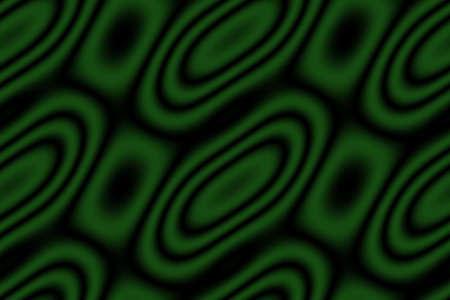 dark green: Illustration of dark green and black circles and rhombuses