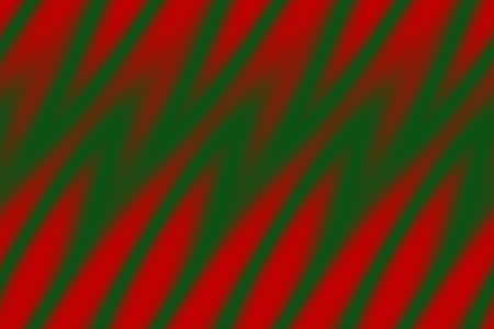 dark green: Illustration of red and dark green flames Stock Photo