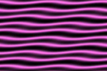 pink and black: Illustration of pink and black horizontal waves