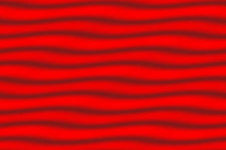 dark red: Illustration of light red and dark red horizontal waves