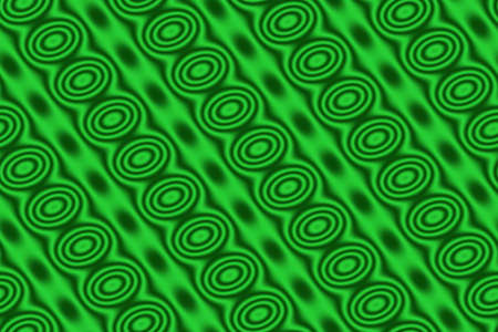 dark green: Light green background with dark green circles in diagonal lines