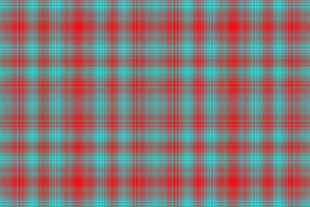 checkered pattern: Illustration of red and cyan blue checkered pattern