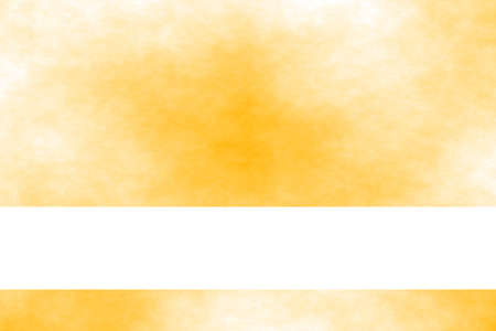 smoky: Orange and white smoky background with white banner
