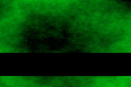 smoky black: Green and black smoky background with green banner