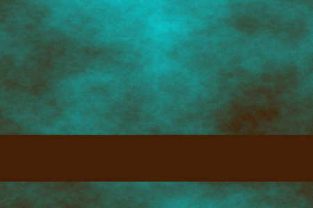 smoky: Cyan blue and brown smoky background with brown stripes Stock Photo