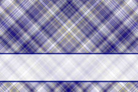dark blue: Dark blue and white checkered illustration with white banner