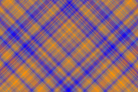 dark blue: Dark blue and orange checkered illustration