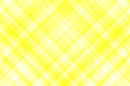 on white: Yellow and white checkered illustration