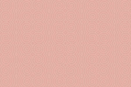 repetitive: Illustration of repetitive red and white spirals