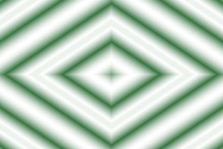 dark green: Illustration of a dark green and white rhombus