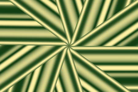dark green: Illustration of a dark green and vanilla colred star pattern Stock Photo