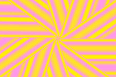 yellow star: Illustration of a pink and yellow star pattern