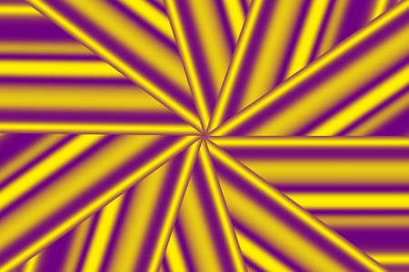 yellow star: Illustration of purple and yellow star pattern Stock Photo