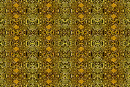 repetitive: Illustration of repetitive yellow and black flowers
