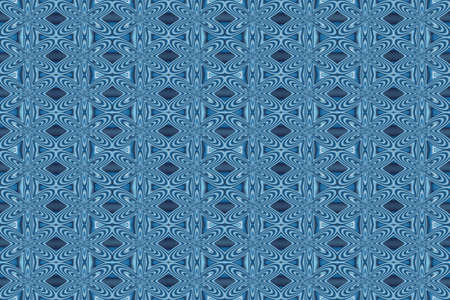 repetitive: Illustration of repetitive light blue and dark blue flowers