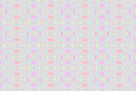 repetitive: Illustration of repetitive pastel flowers
