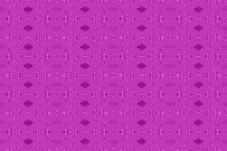 repetitive: Illustration of repetitive purple flowers