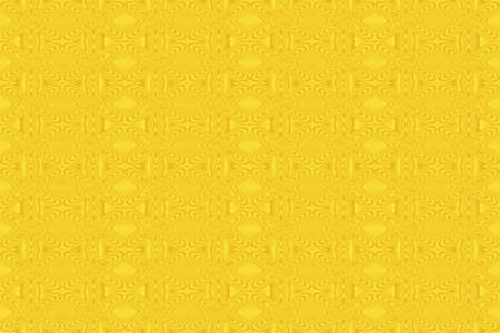 plural: Illustration of repetitive yellow flowers