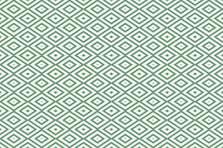 repetitive: Illustration of repetitive dark green and white rhombuses
