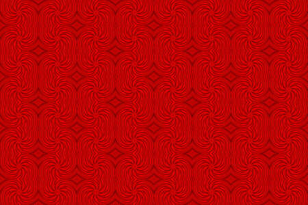 red swirls: Illustration of repetitive red swirls Stock Photo