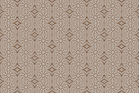 plural: Illustration of repetitive brown and white swirls