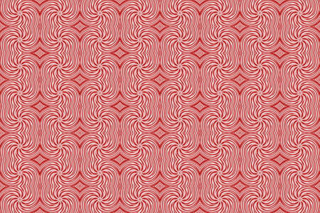 repetitive: Illustration of repetitive red and white swirls