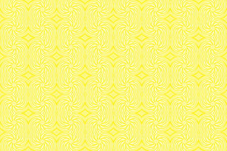 repetitive: Illustration of repetitive yellow and white swirls