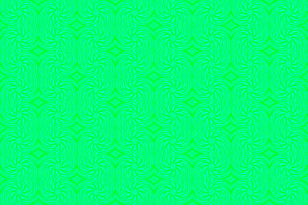 repetitive: Illustration of repetitive cyan and green swirls