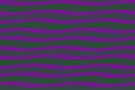dark green: Illustration of purple and dark green painted waves