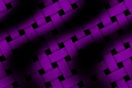 weaved: Illustration of purple and black weaved pattern