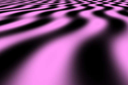 pink and black: Illustration of pink and black perspective waves
