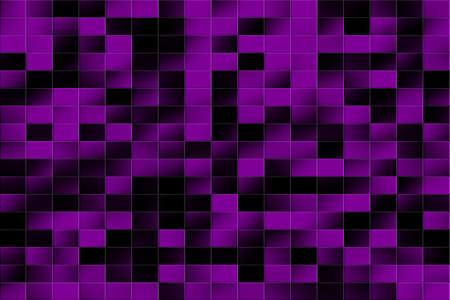 tiled: Illustration of a purple and black tiled background