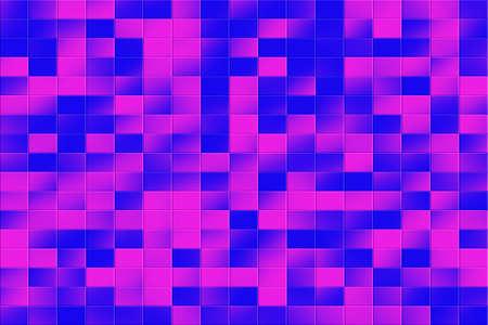 tiled: Illustration of a dark blue and purple tiled background