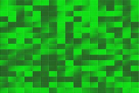 tiled: Illustration of a green tiled background