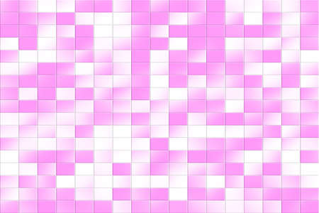 tiled: Illustration of a pink and white tiled background
