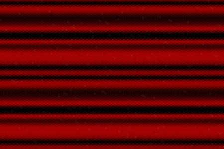 lineas horizontales: Ilustración de las líneas horizontales rojas y negras de mosaico