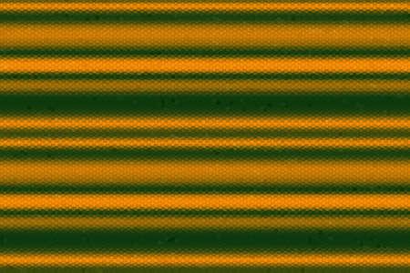 lineas horizontales: Ilustración de las líneas horizontales verdes y naranjas oscuros de mosaico Foto de archivo