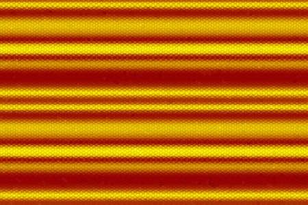 lineas horizontales: Ilustración de las líneas horizontales rojas y amarillas de mosaico