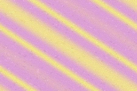 diagonal stripes: Illustration of pink and yellow diagonal stripes mosaic